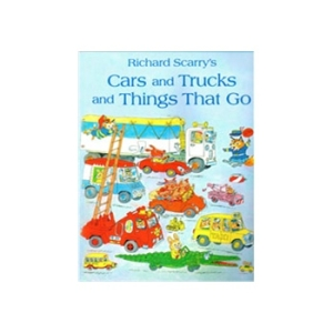 Cars and Trucks and Things that Go 斯凯瑞童书:咕噜咕噜转 ISBN 9780007935192