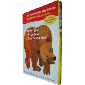 Bear Book Readers Boxed Set 你看到了什么?系列套装(含四本大开本Eric Carle绘本) ISBN978080