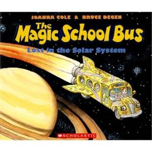 Magic School Bus Lost in the Solar System神奇校车-迷失在太阳系  9780590414296