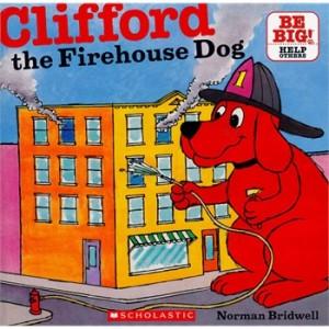 Clifford the Firehouse Dog 消防队员大红狗 9780545215800