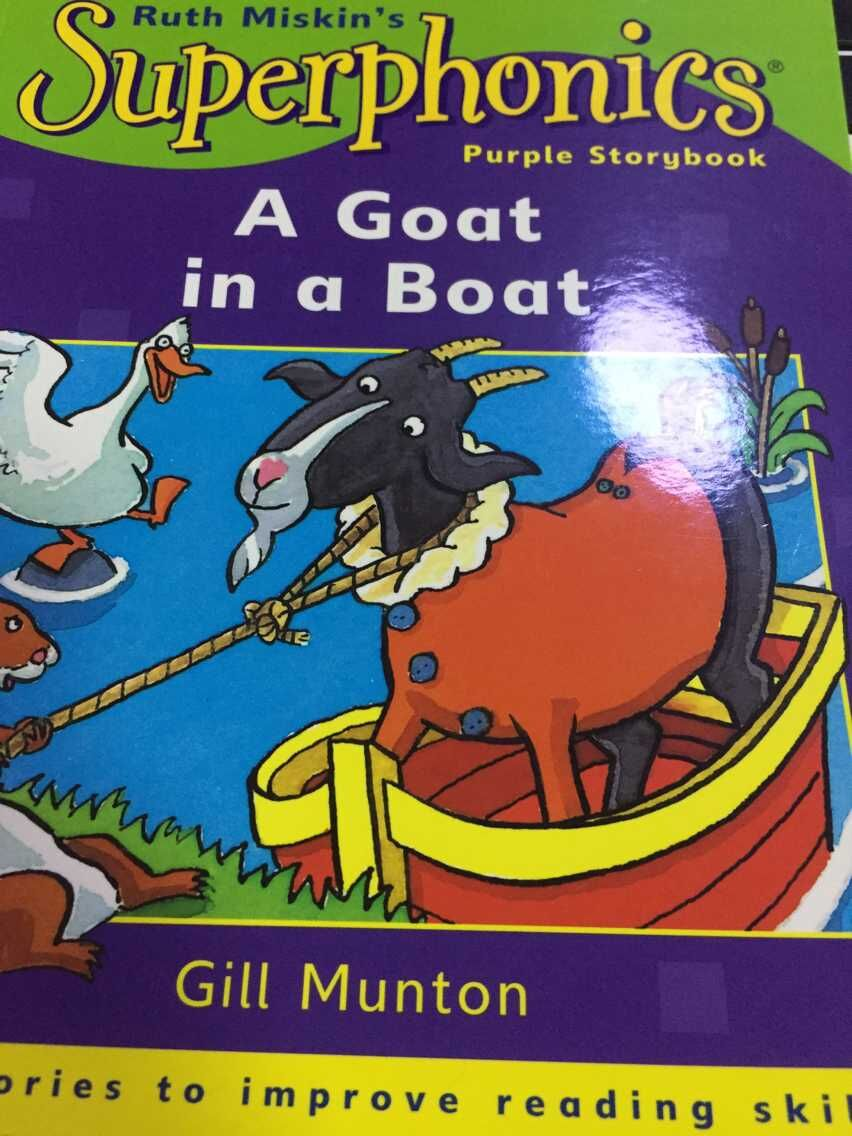 A Goat in a Boat