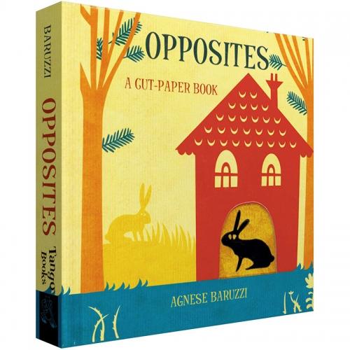 Opposites A cut-paper book 反义词