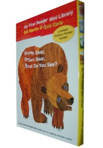 Bear Book Readers Boxed Set 你看到了什么?—brown bear,brown bear,what do you