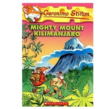 Geronimo Stilton #41: Mighty Mount Killmanjaro老鼠记者41-无敌乞力马扎罗 9780545