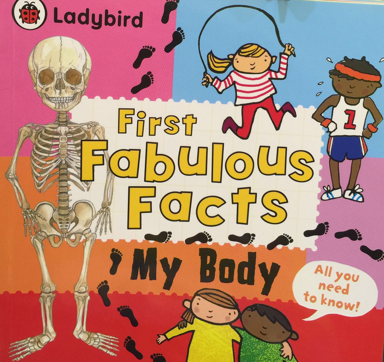 Ladybird - First Fabulous Facts My Body