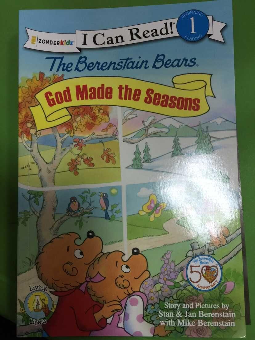 God Made the Seasons  The Berenstain Bears