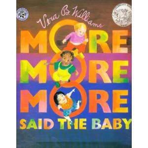 """More More More,""Said the Baby 宝贝想要更多(凯迪克银奖,平装) ISBN"