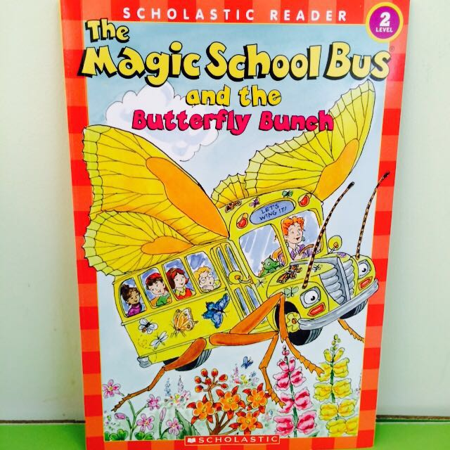 butterfly bunch (the magic school bus)