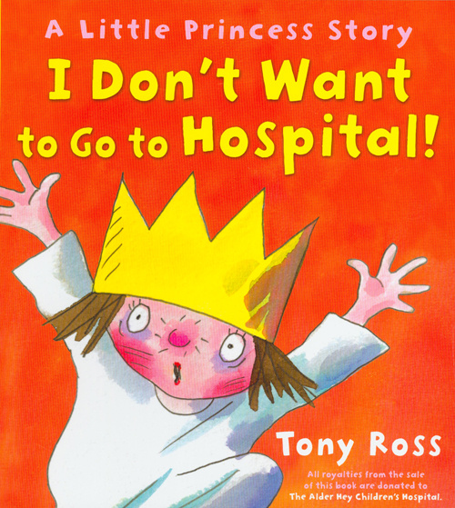 A Little Princess Story - I Don't Want to Go to Hospital!
