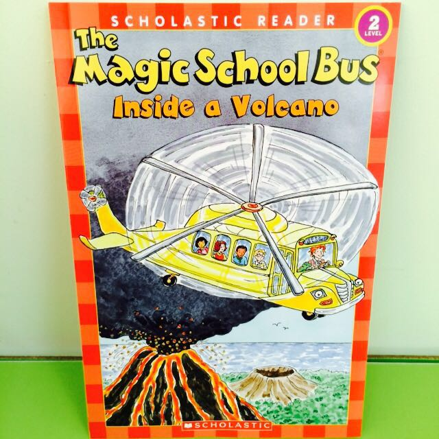 inside a volcano (the magic school bus