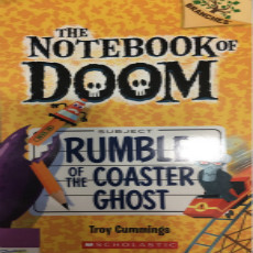 the notebook of doom  rumble of the coaster ghost