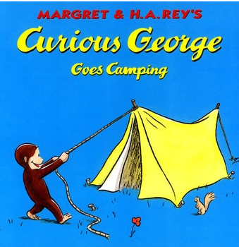 Curious George Goes Camping好奇猴乔治去野营