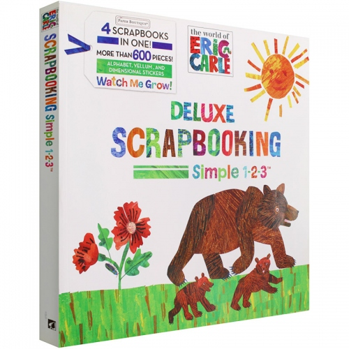 The World of Eric Carle - Deluxe Scrapbooking Simple 1-2-3