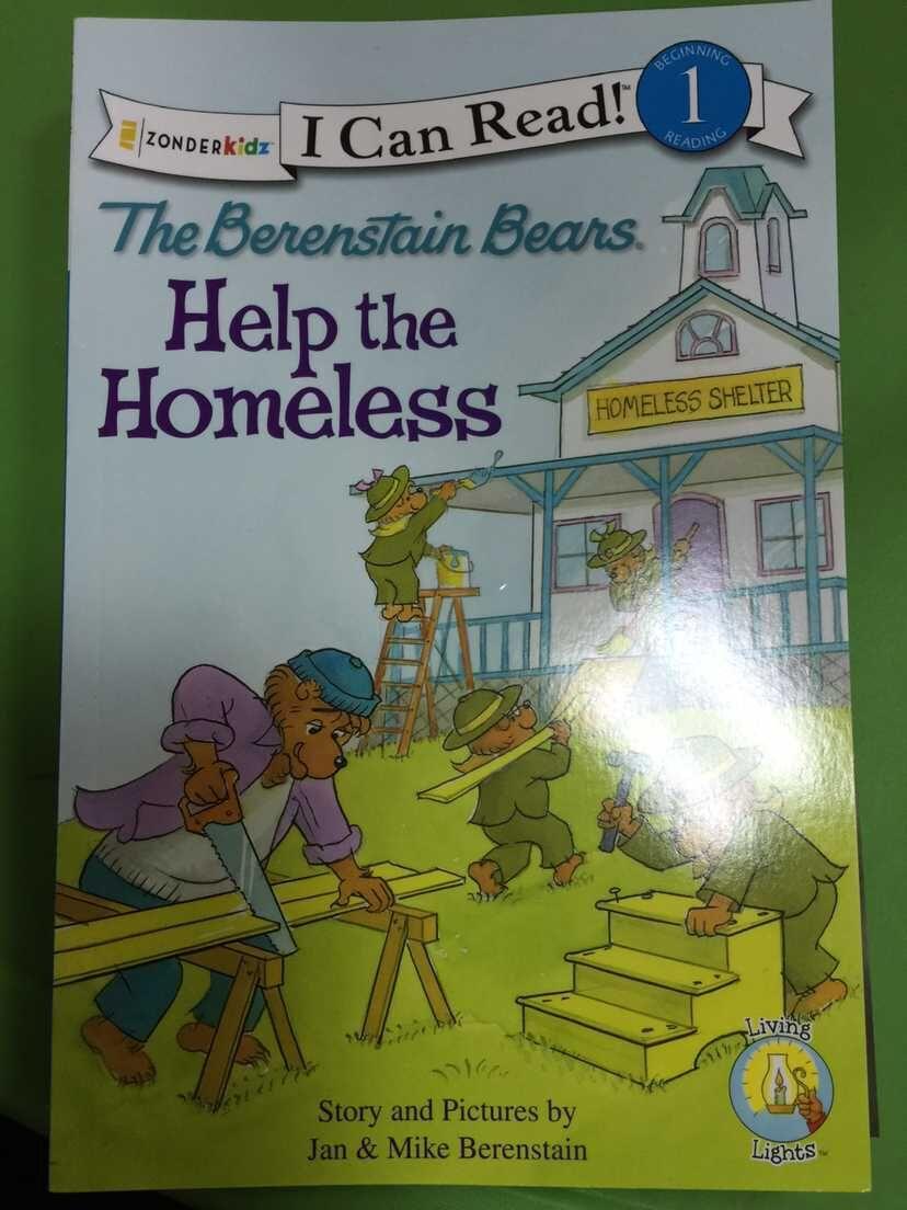 Help the Homeless The Berenstain Bears