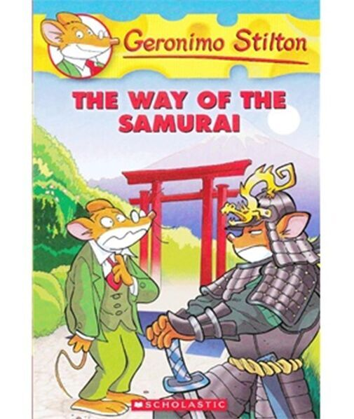 The Way Of The Samurai(Geronimo Stilton #49)老鼠记者49ISBN9780545341011